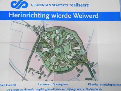 Weiwerd, dorpje in gemeente Delfzijl, in de jaren zeventig grotendeels afgebroken t.b.v. de industrie van Delfzijl, wordt nu herbestemd tot kleinschalig bedrijvenpark Brainwierde Weiwerd.