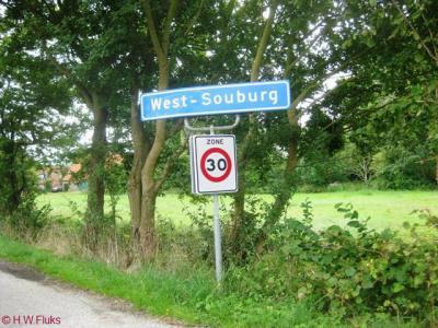 Het dorp West-Souburg had tot medio 2009 nog eigen plaatsnaamborden. De inwoners waren 'not amused' dat die toen door de gemeente zijn verwijderd en ijverden sindsdien voor terugkeer van de borden.