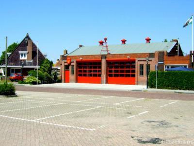 Zoutkamp, brandweerkazerne