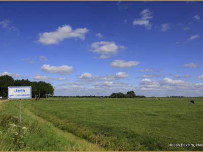 De buurtschap Jeth valt onder het dorp Britswert en omvat slechts een letterlijke handvol boerderijen