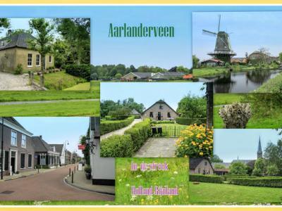 Aarlanderveen is een dorp in de gemeente Alphen aan den Rijn, in de provincie Zuid-Holland, in de streken Holland Rijnland en Groene Hart. Het was een zelfstandige gemeente t/m 1917. (© Jan Dijkstra, Houten)