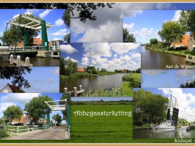 Abbegaasterketting, collage van buurtschapsgezichten (© Jan Dijkstra, Houten)