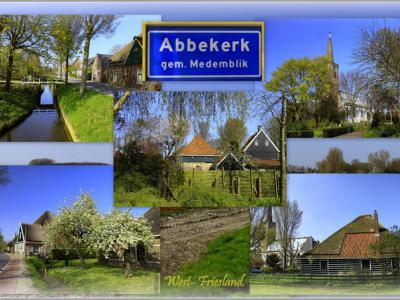 Abbekerk is een dorp in de provincie Noord-Holland, in de streek West-Friesland, gemeente Medemblik. Het was een zelfstandige gemeente t/m 1978. In 1979 over naar gemeente Noorder-Koggenland, in 2007 over naar gemeente Medemblik. (© Jan Dijkstra, Houten)