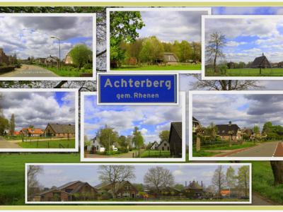 Achterberg, collage dorpsgezichten (© Jan Dijkstra, Houten)