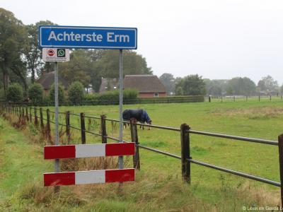 Achterste Erm is een buurtschap in de provincie Drenthe, gemeente Coevorden. T/m 1997 gemeente Sleen. De buurtschap valt onder het dorp Erm. De buurtschap wordt dichtbebouwd genoeg bevonden voor een 'bebouwde kom' en heeft daarom blauwe plaatsnaamborden.