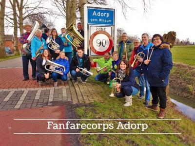Fanfarecorps Adorp heeft in 2016 het 90-jarig bestaan gevierd en heeft zich tegelijkertijd omgevormd naar Muziekvereniging Adorp.