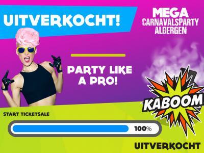 In Albergen houden ze wel van een feestje, en dat pakken ze gelijk groot(s) aan; zo trekt de jaarlijkse carnavalsoptocht 3.500 deelnemers, en de Mega Carnavalsparty maar liefst 12.000 feestgangers, die ook nog eens al een week van tevoren is uitverkocht.