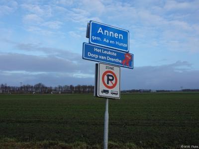 Annen is een dorp in de provincie Drenthe, gemeente Aa en Hunze. T/m 1997 (hoofdplaats van de) gemeente Anloo.