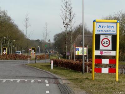 Arriën is een buurtschap in de provincie Overijssel, in de streek Salland, gemeente Ommen. Van 1-7-1818 t/m 30-4-1923 gemeente Ambt-Ommen.