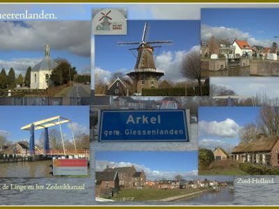 Arkel is een dorp in de provincie Zuid-Holland, in grotendeels de streek Alblasserwaard, deels de streek Vijfheerenlanden, gem. Molenlanden. Het was een zelfstandige gem. t/m 1985. In 1986 over naar gem. Giessenlanden, in 2019 over naar gem. Molenlanden.