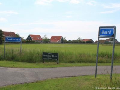 Kaard is een buurtschap in de provincie Fryslân, in de regio Waddengebied, gemeente Terschelling. Aan de oostkant grenst de buurtschap, zoals op deze foto te zien is, aan buur-buurtschap Baaiduinen.