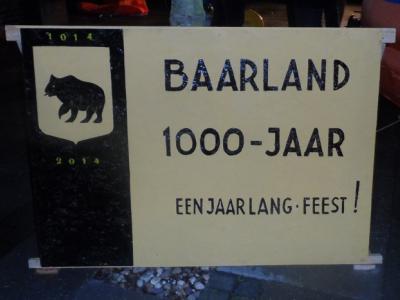In 2014 hebben de inwoners van Baarland een jaar lang het 1000-jarig bestaan van hun dorp gevierd. (© www.baarland.com)