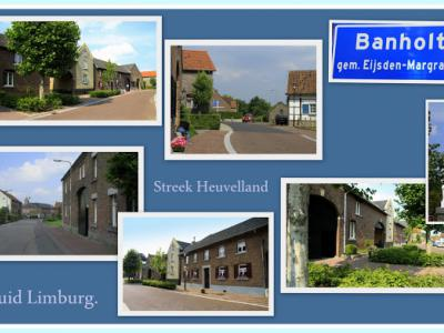 Banholt, collage van dorpsgezichten (© Jan Dijkstra, Houten)
