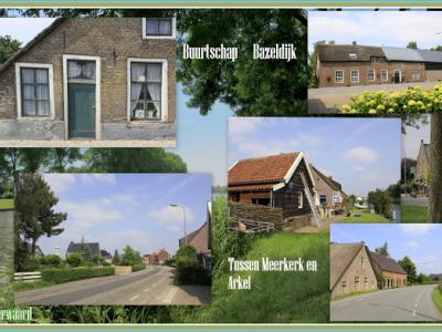 Bazeldijk, collage van buurtschapsgezichten (© Jan Dijkstra, Houten)