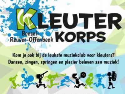 Beesel is een zeer muzikale gemeente; ze hebben er niet alleen muziekverenigingen en zangkoren, maar zelfs een Kleuterclub, waar kinderen van 4 tot 6 jaar een muziekinstrument leren bespelen.