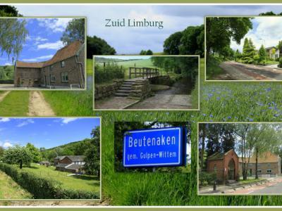 Beutenaken, collage van buurtschapsgezichten (© Jan Dijkstra, Houten)