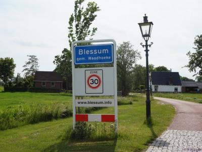 Blessum is een dorp in de provincie Fryslân, gemeente Waadhoeke. T/m 2017 gemeente Menameradiel.