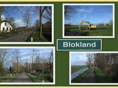 Blokland, collage van buurtschapsgezichten (© Jan Dijkstra, Houten)