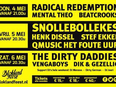Tijdens het jaarlijkse Bloklandfeest (begin mei) staat de buurtschap Blokland bij Nieuwveen op zijn kop met 3 avonden lang een volle feesttent boordevol live bands en DJ's.