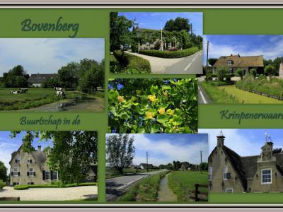 Bovenberg, collage van buurtschapsgezichten (© Jan Dijkstra, Houten)