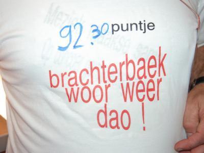 Op het Mini-WMC in Kerkrade, in 2011 (waar ook de vorige foto betrekking op heeft), heeft Fanfare Eensgezindheid uit Brachterbeek ze weer een poepje laten ruiken: met 92,3 punten hebben ze wederom bewezen tot de toppers te behoren.