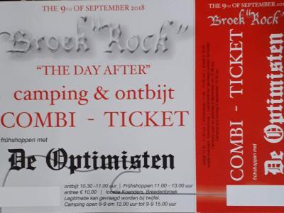 """Ieder jaar, in september, staat het dorp Breedenbroek drie dagen op zijn kop wegens Broek""""Rock"""" Open Air, met op vrijdag The Warming Up, op zaterdag Broek""""Rock"""" Kids en het Open Air-festival, en op zondag The Morning After (ontbijten en frühshoppen)."""