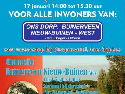 Door gemeente en inwoners wordt Buinerveen als een eenheid beschouwd samen met het W deel van buurdorp Nieuw-Buinen. Samen wordt dat geheel in de volksmond ook wel Nieuw-Buinerveen genoemd.