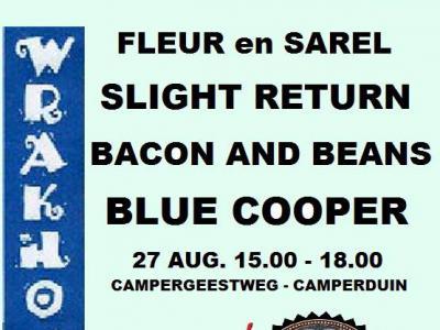 Tijdens het jaarlijkse Wrakhout Festival in Camperduin (eind augustus of begin september) is er van alles te doen in deze buurtschap. Daarover kun je alles lezen onder het kopje Jaarlijkse evenementen.