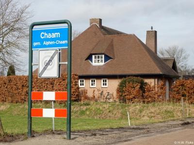 Chaam is een dorp in de provincie Noord-Brabant, in de regio West-Brabant, en daarbinnen in de streek Baronie en Markiezaat, gemeente Alphen-Chaam. Het was een zelfstandige gemeente t/m 1996.