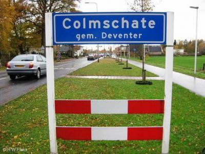 Colmschate is een dorp en stadsdeel in de provincie Overijssel, in de streek Salland, gemeente Deventer. T/m 1974 gemeente Diepenveen. In 1975 is het dorp middels een grenscorrectie naar de gemeente Deventer overgegaan.