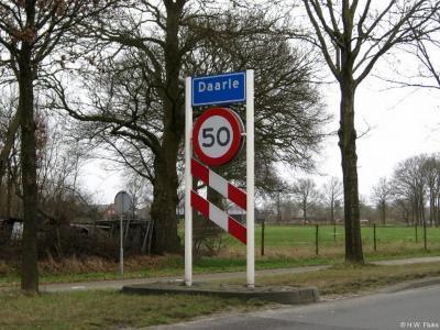Daarle is een dorp in de provincie Overijssel, in de streek Salland, gemeente Hellendoorn.