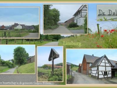 Dal, collage van buurtschapsgezichten (© Jan Dijkstra, Houten)
