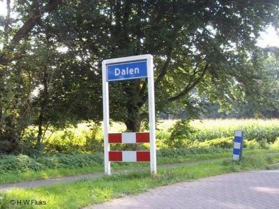 Dalen is een dorp in de provincie Drenthe, gemeente Coevorden. Het was een zelfstandige gemeente t/m 1997.