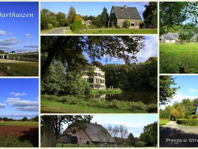 Darthuizen, collage van buurtschapsgezichten (© Jan Dijkstra, Houten)