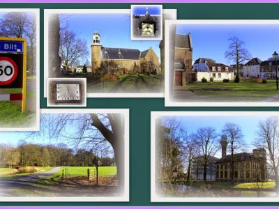 De Bilt is een dorp en gemeente in de provincie Utrecht, in de streek Utrechtse Heuvelrug. (© Jan Dijkstra, Houten)