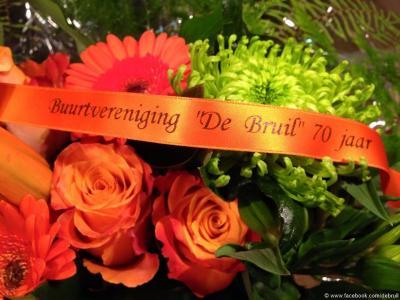 Buurtvereniging De Bruil e.o. heeft in 2015 het 70-jarig bestaan gevierd (© Buurtvereniging De Bruil e.o./www.debruil.nl)