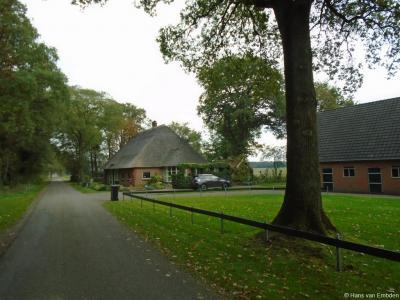 Buurtschap De Haar onder het dorp Daarle, buurtschapsgezicht aan de Haarweg