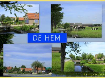De Hem, collage van buurtschapsgezichten (© Jan Dijkstra, Houten)