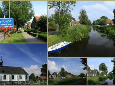 De Knipe is een dorp in de provincie Fryslân, gemeente Heerenveen. T/m 30-6-1934 gemeente Schoterland. (© Jan Dijkstra, Houten)