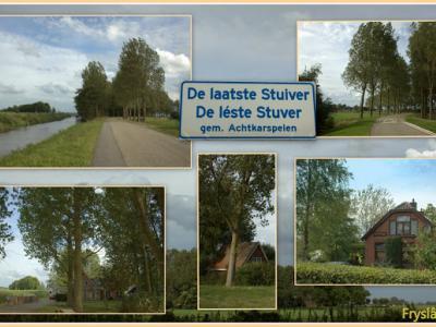 De Leste Stuver, collage van buurtschapsgezichten (© Jan Dijkstra, Houten)