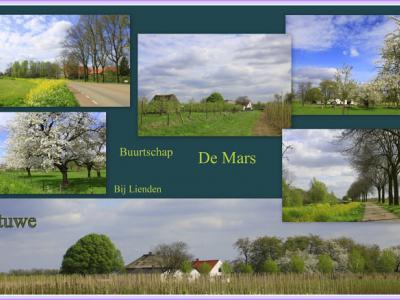 De Mars, collage van buurtschapsgezichten (© Jan Dijkstra, Houten)