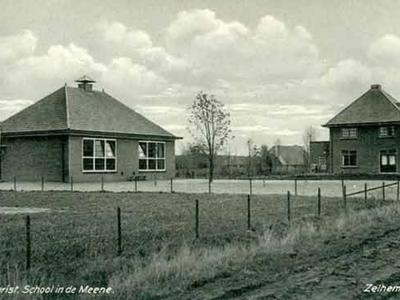 De Zelhemse buurtschap De Meene heeft een eigen lagere school gehad