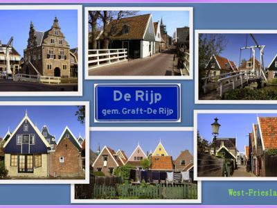 In De Rijp valt zóveel te zien aan monumentale panden. Voor zo'n niet reuzegroot dorp is 250 rijks- en gemeentelijke monumenten best heel veel. (© Jan Dijkstra, Houten)