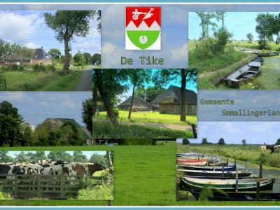 De Tike, collage van dorpsgezichten (© Jan Dijkstra, Houten)