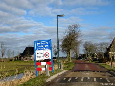 Dedgum is een dorp in de provincie Fryslân, gemeente Súdwest-Fryslân. T/m 2010 gemeente Wûnseradiel.