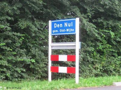 Den Nul is een dorp in de provincie Overijssel, in de streek Salland, gemeente Olst-Wijhe. T/m 2000 gemeente Olst.