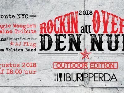 Rockin all over Den Nul (op een zaterdag in augustus, in 2019 voor de derde keer) is livemuziek op twee podia met vijf bands, lekker eten en drinken en gezelligheid!