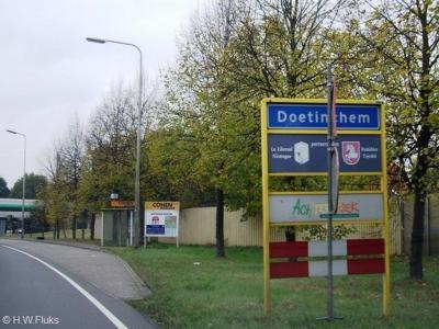 Doetinchem is een stad en gemeente in de provincie Gelderland, in de streek Achterhoek.