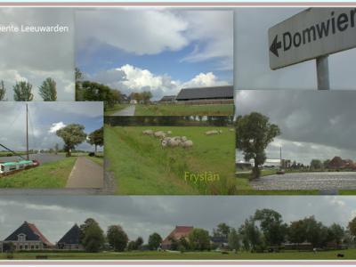 Domwier, collage van buurtschapsgezichten (© Jan Dijkstra, Houten)