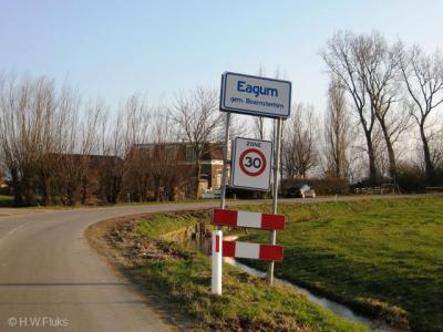 Eagum is een buurtschap in de provincie Fryslân, gemeente Leeuwarden. T/m 1983 gemeente Idaarderadeel. In 1984 over naar gemeente Boarnsterhim, in 2014 over naar gemeente Leeuwarden.